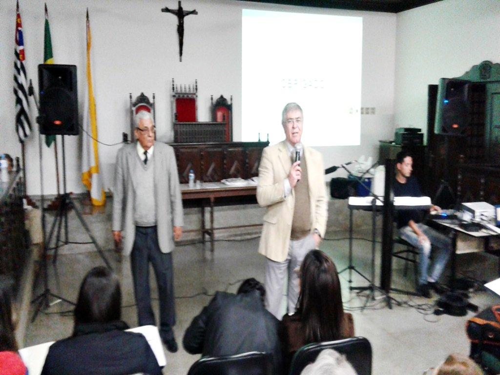 Palestra com o Juiz  Dr. Emilio Gimenez